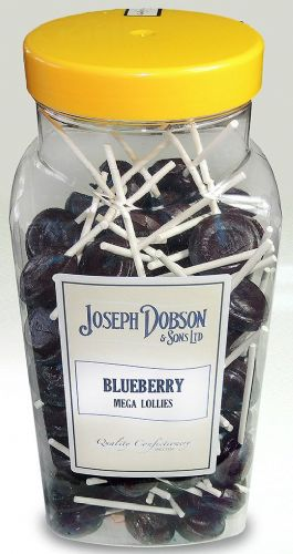 R130 DOBSONS BLUEBERRY MEGA LOLLIES